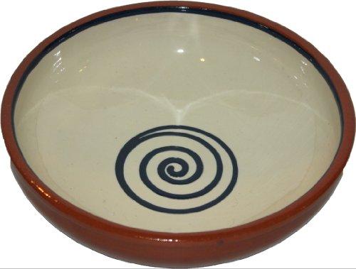 Amazing Cookware Bol spirale 20 cm, crème/bleu