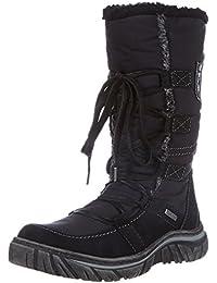 Tamaris Tamaris-ACTIVE 1-1-26701-29 - Botas de nieve de cuero para mujer, color negro, talla 36