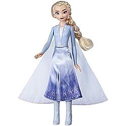 Disney La Reine des Neiges 2 - Poupee mannequin Princesse Disney Robe Lumineuse - 27 cm