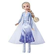 Disney Frozen Elsa Magical Swirling Adventure Fashion Doll That Lights Up, Inspired by Disney's Frozen 2 Movie - Toy For Kids 3 Years Old and Up