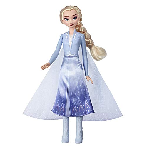 Hasbro Disney Frozen 2 Fashion Doll Light Up Elsa, Multicolor, E7000ES0