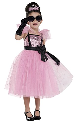 amscan Kostüm Glamour Girl Prinzessin 4-teilig Gr. ()