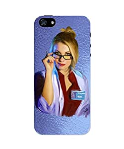 PosterGuy iPhone 5 / 5S Case Cover - Dr Harleen(Harley Quinn) Quinzd Digital Drawing