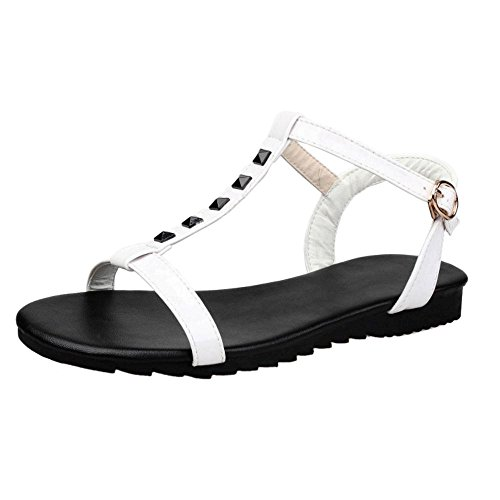 Coolcept Femmes Bout Ouvert Sandales Chaussures white