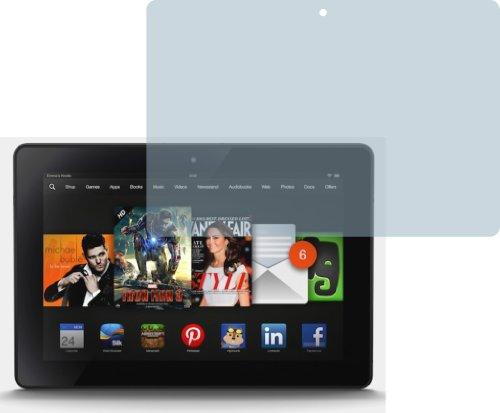 4X Amazon Kindle Fire HDX 8.9 ENTSPIEGELNDE Displayschutzfolie Bildschirmschutzfolie von 4ProTec - Nahezu blendfreie Antireflexfolie