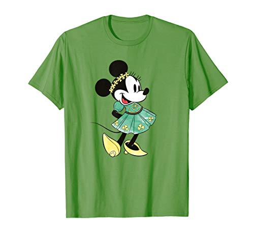 Patricks Day Shirt (Disney Minnie Mouse Shamrock Dress St. Patrick's Day T-Shirt)