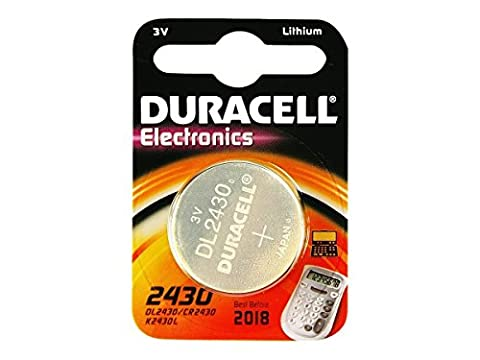 2XDuracell DL2430 non-rechargeable battery - non-rechargeable batteries (Lithium, Button/coin, Silver)