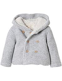 Cyrillus - Veste doublée sherpa bébé gris chiné