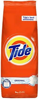 Tide Powder Laundry Detergent, Original Scent, 9 KG