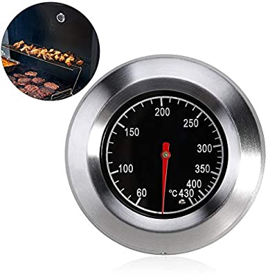 Bermud Edelstahl Bimetall Thermometer Bratenthermometer Grillthermometer Edelstahl BBQ Gasgrill Barbecue