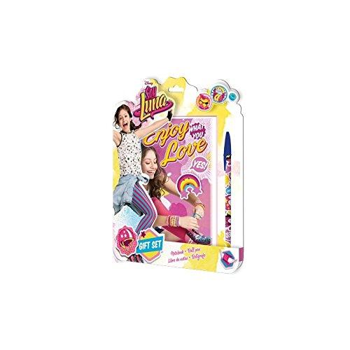 Soy Luna–Soy Luna–Blister con quaderno spirale e penna, Kids Euroswan kd-wd18029), unica (Kids Euroswan wd18029)