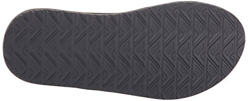 Reef Phantom Prints, Tongs Homme, Gris Noir - Negro (Charcoal Palm)