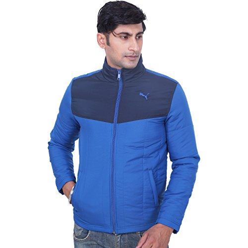 Puma Men's Padded Blue-black Track, Casual Jacket