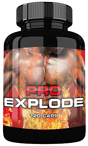 Pro Explode By VargPower | Pre Workout Booster | 120 Kapseln | Original Produkt | Neuer Trainings Booster | Beliebt bei Leistungssportlern | Auf Pharma Niveau hergestellt | Dopingfrei