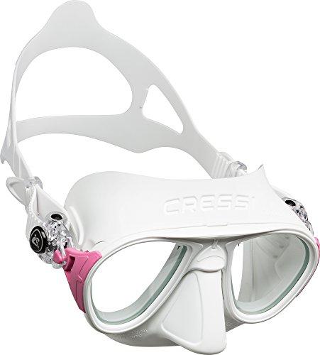 Cressi Sub S.p.A. Calibro Masque de Plongée Mixte Adulte, Blanc