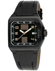 Breil BW0390 - Reloj analógico de mujer de cuarzo con correa de piel negra