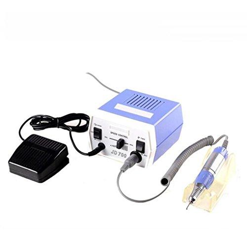 ZXLIFE Nagelpolierer ® Nagel elektrische Schleifmaschine Schleifen Nagel Reparatur Mania Poliermaschine Batterie Betrieben Nagelfeile