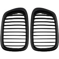 Sanzhileg Negro 26 cm x 16,5 cm Valla de ventilación de Flujo de Aire Rejilla de Malla para BMW E39 1995-2004 5 Series. Rejillas de ventilación de Aire Instalación Simple