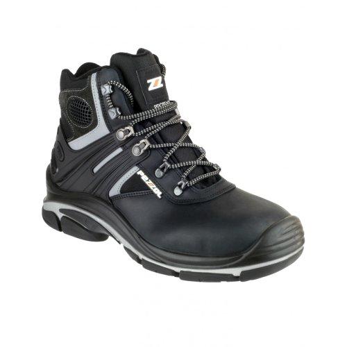 Pezzol Tornado Hi 566 - Chaussures montantes de sécurité - Homme Noir