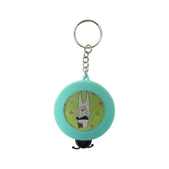 Bag of Small Things Measuring Inch Automatic Tape (Turquoise, 5 cm x 1.6 cm x 5 cm)