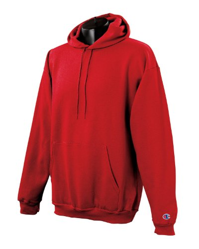 Champion Mens 50/50 EcoSmart Pullover Hood (S700) Red