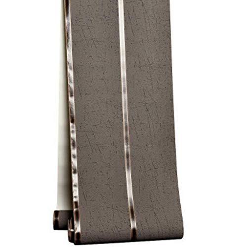 Tapete einfaches Hirschleder Marmor 3D Querstreifen Tapete Vlies Wildleder (Color : D)