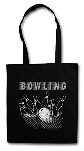 d Bowling Hipster Shopping Cotton Bag Wesley Crushers Team Let?s Bowl Rather Be Bowling ()