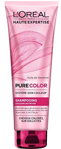 L'Oréal Paris Pure Color Shampoing Cheveux Colorés 250 ML - Lot de 2