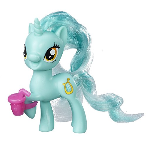 My little Pony Friendship is Magic Lyra Heartsrings Figure (with Cup)