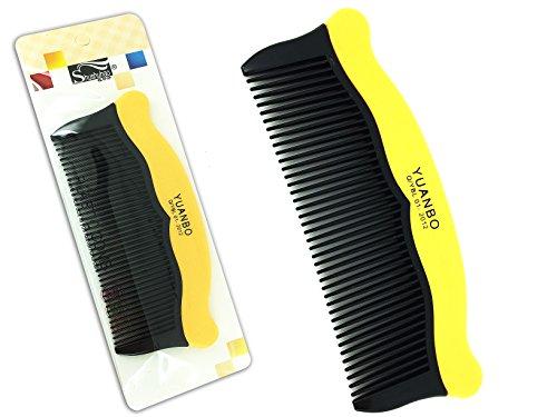 Da uomo e da donna salone professionale barbiere pettine tascabile giallo da parrucchiere capelli