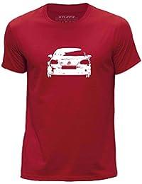 STUFF4 Herren/Rundhals T-Shirt/Schablone Auto-Kunst / VW Golf GTI 5/CS