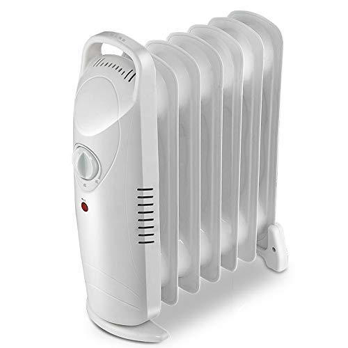 RENXR Versión Mecánica Blanca Calentador De Radiador