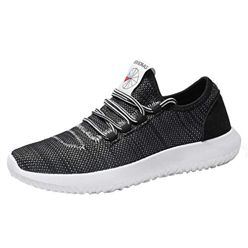 ELECTRI Sneakers Homme en Maille,Décontractée Espadrilles Respirantes Confortables Chaussures Plates Ruuning Sports Gym Sneakers