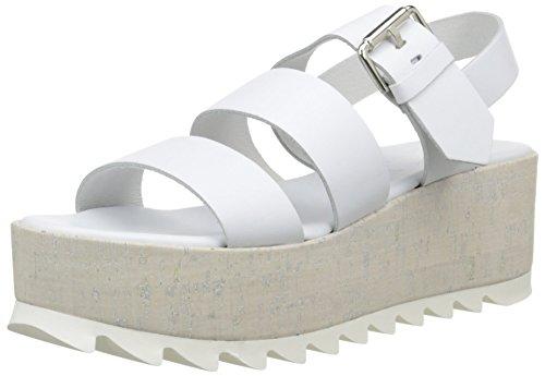 ELIZABETH STUART Damen Turin 304 Sandalen Weiß - weiß