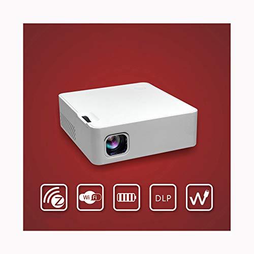 Link Co Heimkino-Projektoren Full HD 1080P Eingebaute Stereoanlage Kabelloses Kabel Schließen Sie das Telefon an Kompatibel mit PS4, HDMI, TF und USB