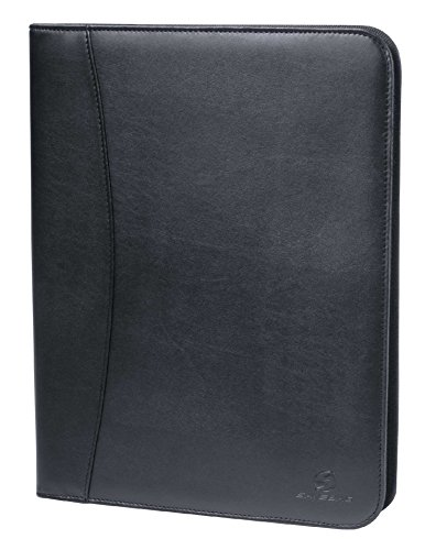 Savebag-13358-Schreibmappe-reissverchluss-Tablet-halter-Taschen-Pencil-holder-Kertenhalter-Schwarz
