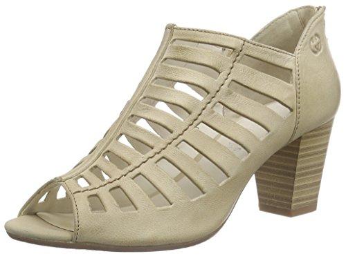 Gerry Weber - Lotta 05, sandali punta chiusa Donna Beige (Beige (panna 220))