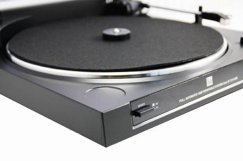 Dual DT 210 USB Schallplattenspieler USB-Anschluss, schwarz - 4