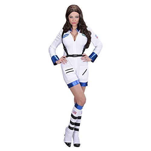 Widmann 11023 - Erwachsene Kostüm Astronautin, Overall und Stiefelüberzieher, L