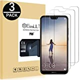 EasyULT [3-Pack Pellicola Protettiva per Huawei P20 Lite, Pellicola Protettiva in Vetro Temperato per Huawei P11 Lite/P20 Lite