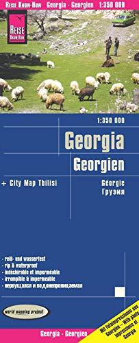Reise Know-How Landkarte Georgien / Georgia (1:350.000): reiß- und wasserfest (world mapping project)