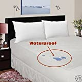 Terry Towelling Waterproof Mattress Protector Fitted Cover Extra Deep
