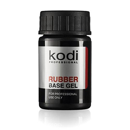 Scopri offerta per Base gel di gomma professionale Kodi | 14ml | 13 9gram unghie Soak Off Polish Coat | gel per unghie a lunga durata strato | Facile da usare non tossico e Scentless | asciugare con lampada UV o LED