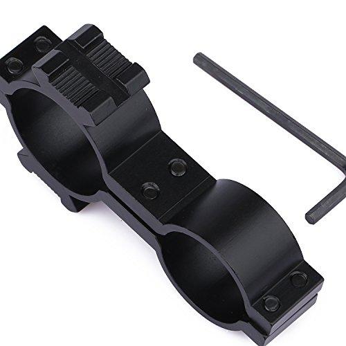 Dophee 25,4mm/30mm Ring 20mm Weaver Schiene Mount Adapter Gewehr Scope Taschenlampen Halter - Dual-ring-mount