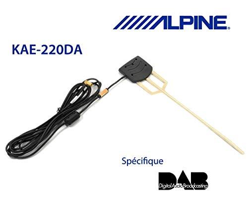 Alpine KAE-220DA - Aktive DAB- Scheiben Antenne thumbnail
