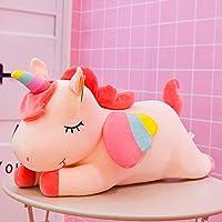 KMNHFGDB Plush Toy Unicorn Doll Dollly Sleeps Girl Holding Pillow Birthday Present 65Cm B