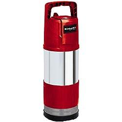 Einhell Pompe immergée automatique GE-PP 1100 N-A (1100 W, Température de l'eau 35°C, Longueur du câble : 15 m, Fonction automatique, Corps Inox, Interrupteur de surcharge)