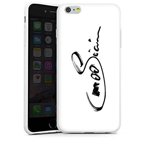 Apple iPhone X Silikon Hülle Case Schutzhülle M00sician Fanartikel Merchandise Unterschrift Silikon Case weiß