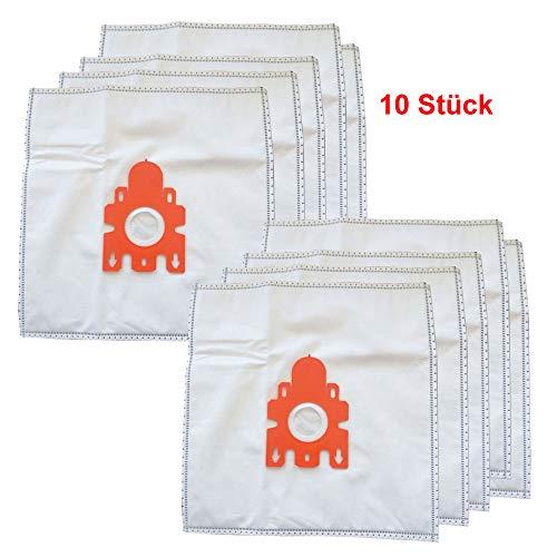 10er Pack Keenberk Staubsauger-Beutel günstiger Ersatz für Miele Typ F/J/M (10 Filter-Beutel + 2 Micro Filter Vlies) (Staubsauger Beutel J)