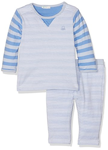 united-colors-of-benetton-set-sweater-trousers-ensemble-bebe-garcon-gris-grey-blue-9-12-mois-taille-